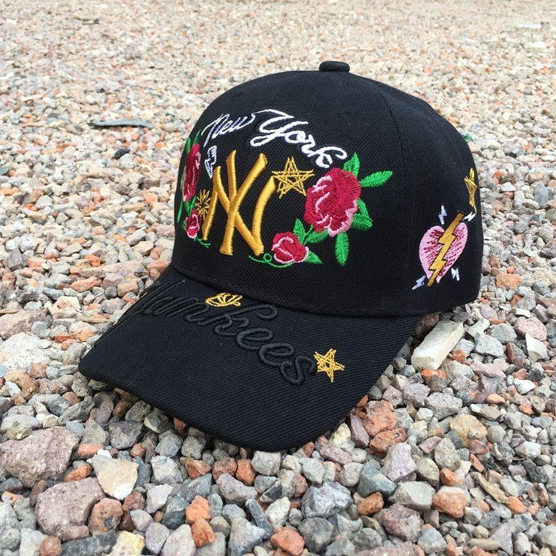 female summer men's casual all-match Korean baseball cap baseball cap fashion Black Sun Hat sun hat