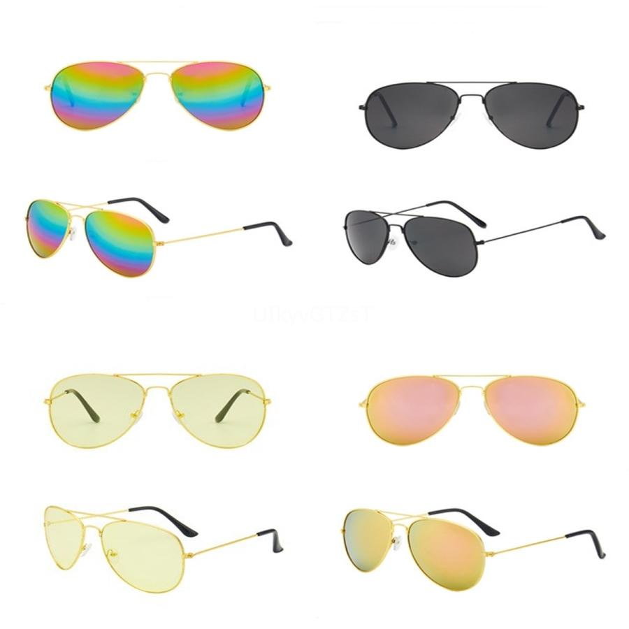 10Pcs Summer Women Fasion Sunglasses Men Driving Sunglasses 6Olors Outdoors Wind Glasses Cycling Eye Sun Glasses Retro Sunglasses Free Si#231