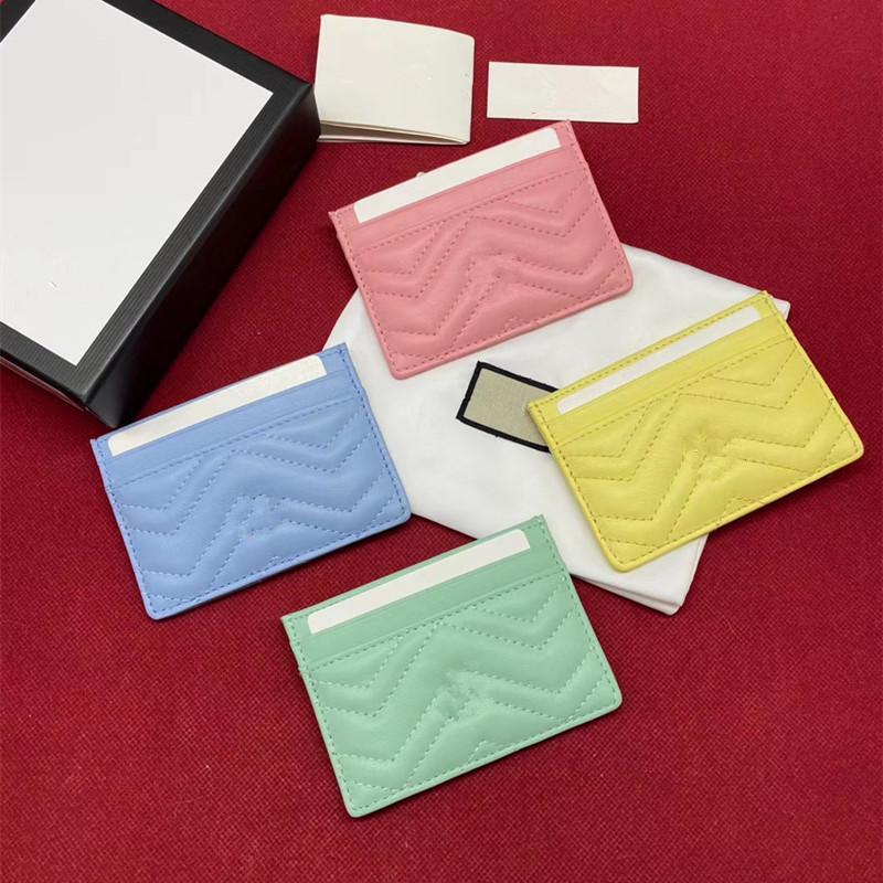 2020 nova cor clássica e simples série doces multifuncional curto carteira moda casual Clipe cartão da carteira das mulheres