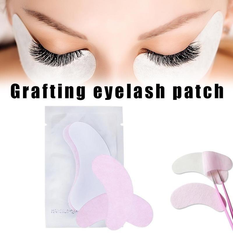 PinkBlue Intensification Cils collagène Eye Patches Intensification Spacers Sous Collagène Yeux Masque papier Correctifs Cils Outils de maquillage