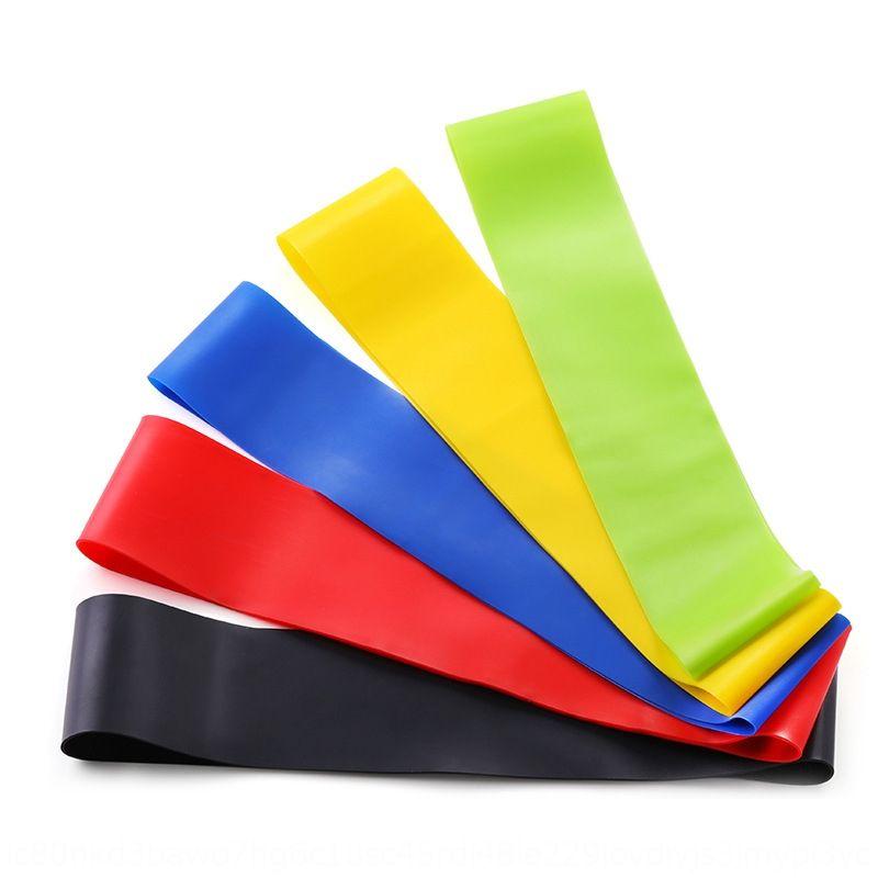 TPE cinghia yoga resistenza foglio corda anello Resistenza banda TPE banda di tensione yoga te componente componenti cintura anello elastico set