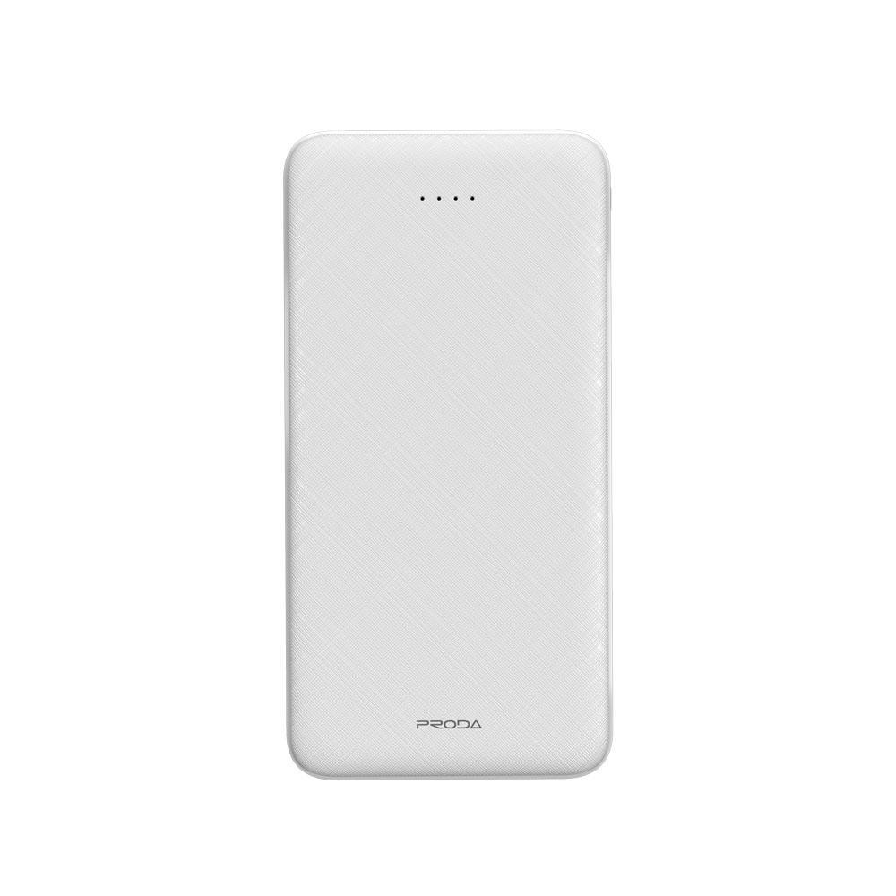 Proda Hujon Series Power Bank PD-P39 10000mAh Portable External Battery Charger with Flashlight for Phone Samsung Galaxy Smartphones Tablet