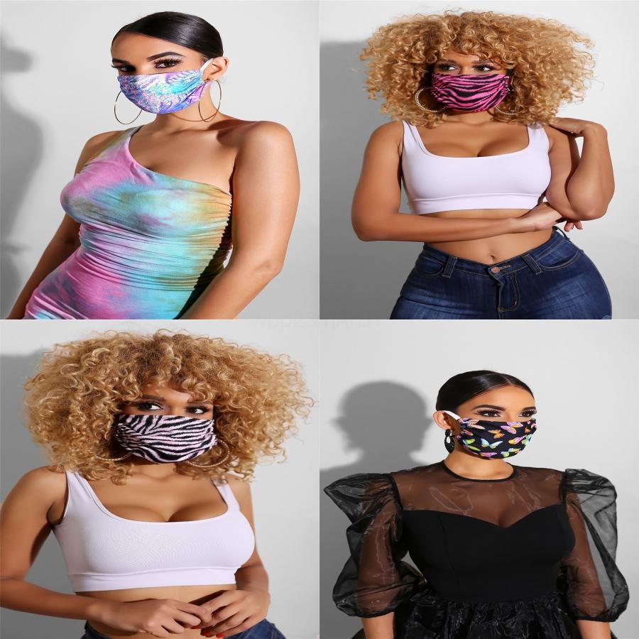 Pamuk toz geçirmez Yüz Maskesi Unisex Kore Stil Açık Bisiklet Anti-Dust Pamuk Koruyucu Kapak Yeniden kullanılabilir Maskeler # 218