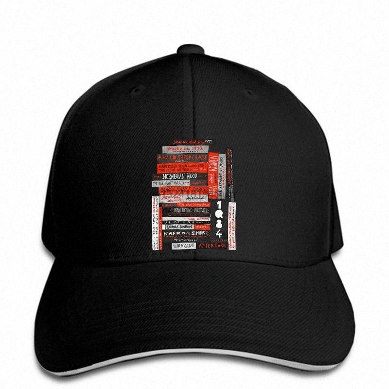 hip hop berretti da baseball cappello freddo Moda Murakami libro Pila Fanatic (a colori) su misura ha stampato snapback q03V #