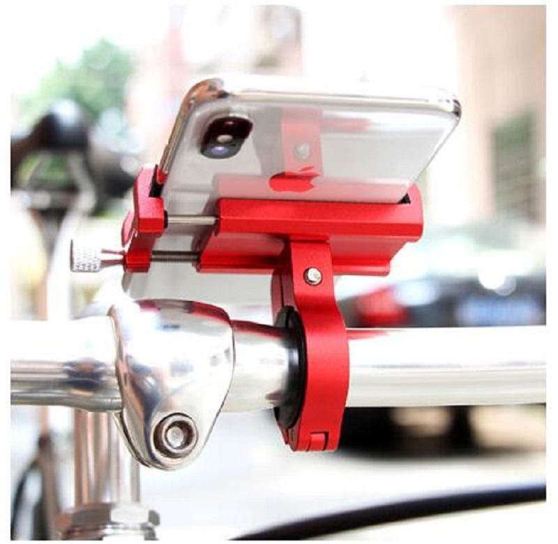 Réglable Téléphone mobile Support à guidon Support de montage en rack Porte-vélos camion de voiture électrique Scooter Qicycle Accessoires vélo