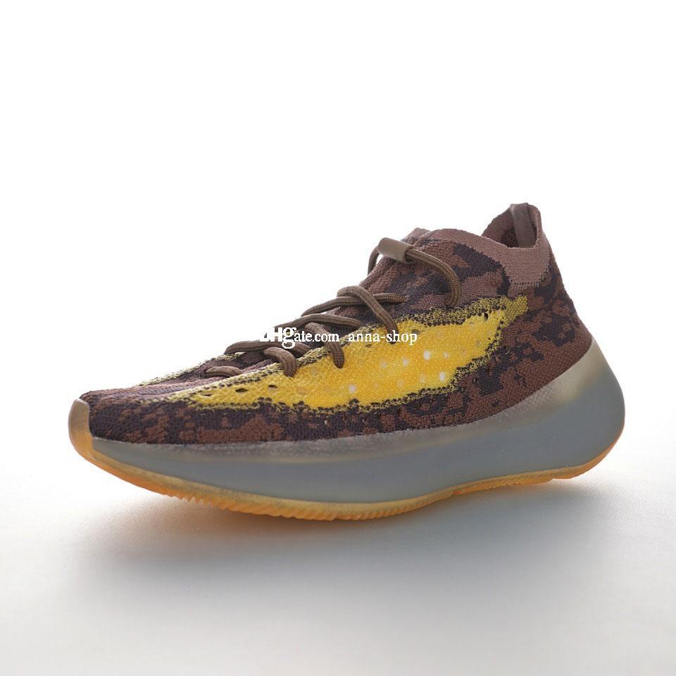 Kanye West 380V1 Lmnte Sneakers per Scarpe kanyewest Sneaker Mens di sport degli uomini Womens addestratori correnti Man Trainer Scarpe scarpe delle donne