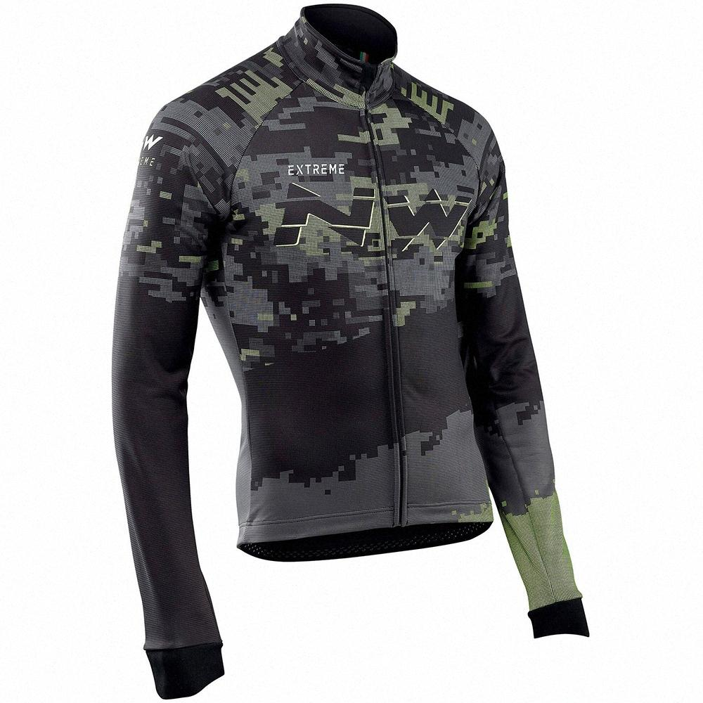 New2019 NW Northwave Radtrikot Männer Langarmshirt Frühling / Herbst-Fahrrad-Kleidung Fahrrad-Hemd Maillot MTB-Jersey-Hemd-Kleidung ILmw #