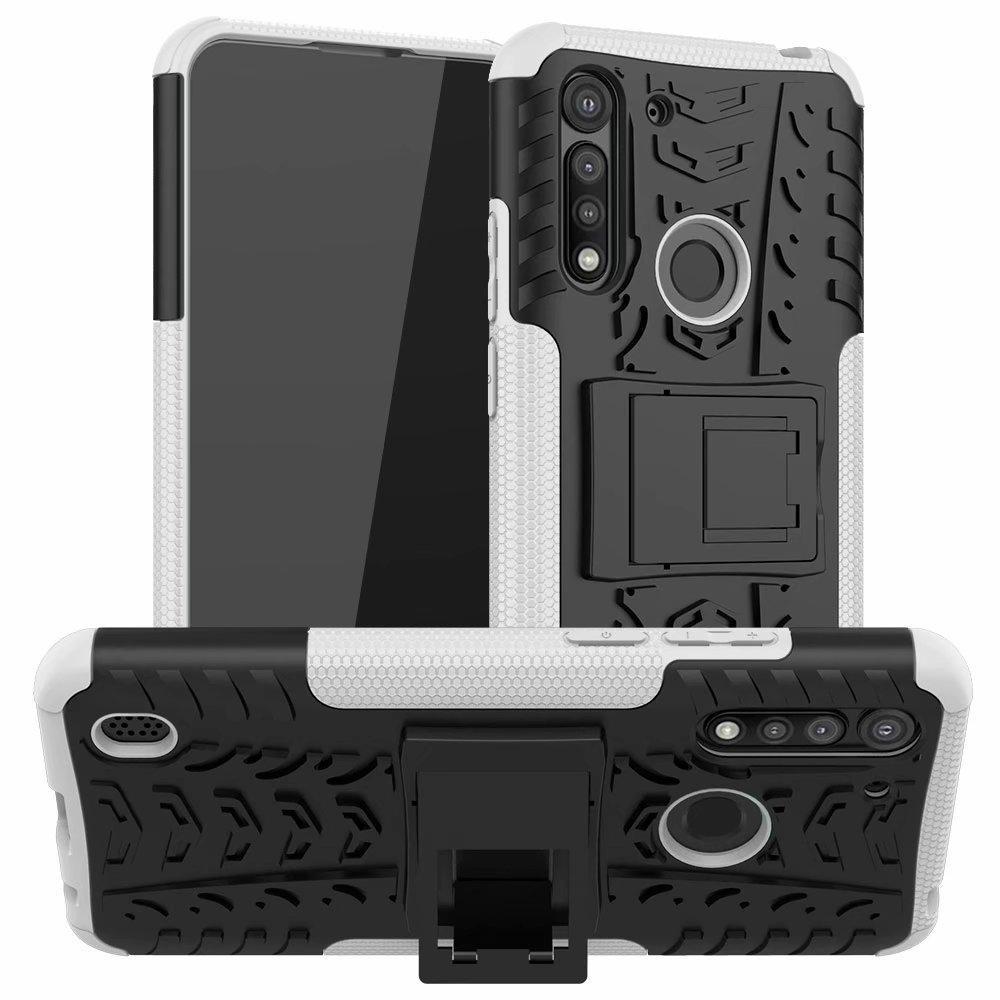 Vibrante dinámica Firma de protección adecuados duro portátil PC Volver Funda para el Motorola Moto G-8 Potencia Lite