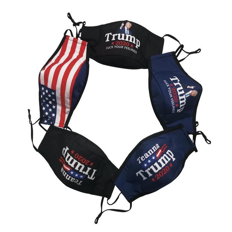 Trump Máscara Facial 2020 Eleição americana Trump tornar a América Great Again Moda Máscaras ajustáveis Esporte Ciclismo Máscara YYA296