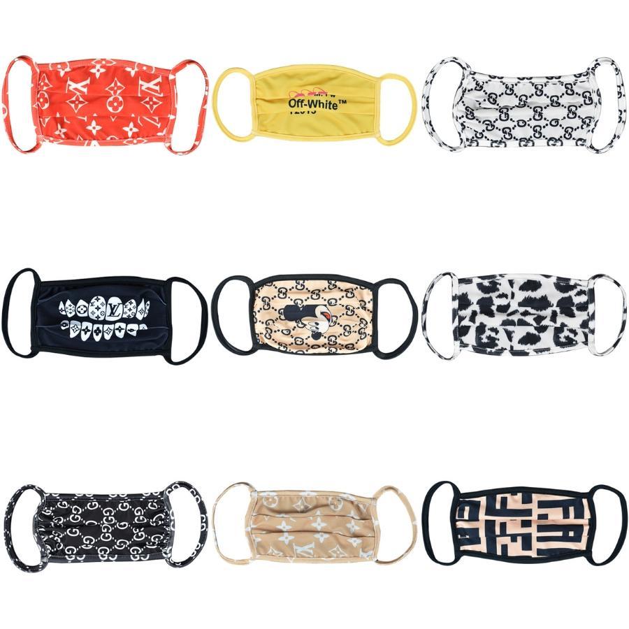 1Pc 3D Printing magischer Schal Multi-Funktions-Halbgesichtsmaske-Ansatz Er Schal Anti-UV Radfahren Bandana Outdoor Sports Kopfbedeckung 2020 # 256