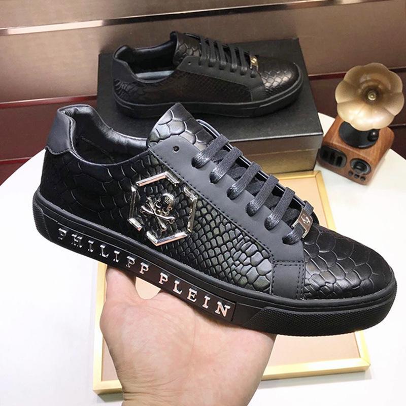 Erkek Ayakkabı Sneakers Nefes Zapatos Hombre ile Menşei Kutusu Düşük En Popüler Basit Erkek Ayakkabı Lüks Herren Sportschuhe Lo -Top Sneakers Orjinal