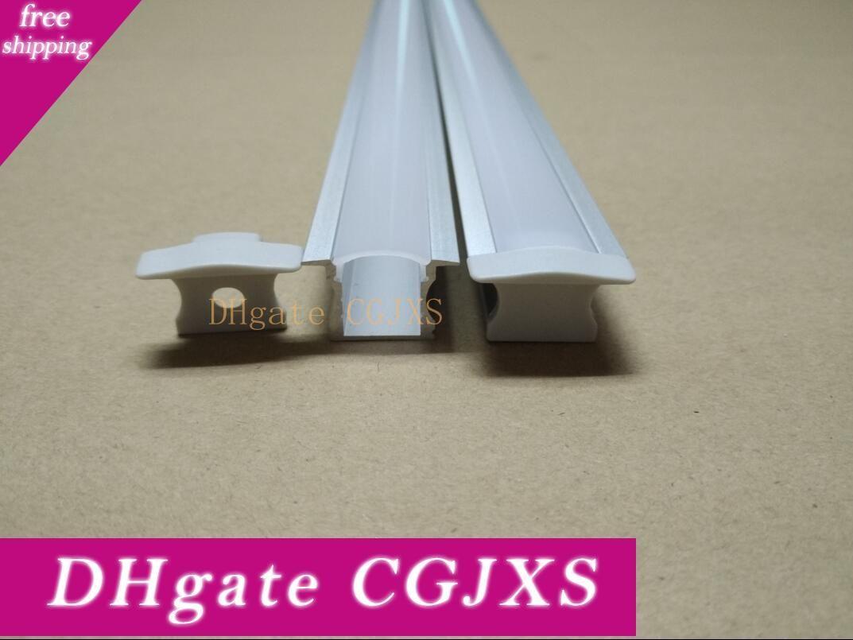 Livraison gratuite Fedex 2000mmx25mmx14 .5mm Profil Aluminium 6000 grade série LED Bandes de décoration 20pcs / lot, 2meters / Pcs
