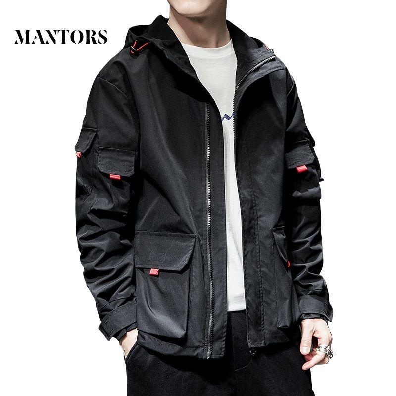 2020 New Jacket Men Spring Autumn Casual Solid Zipper Bomber Jackets Streetwear Overcoat Baseball Mens Thin Pilot Hooded Jacket CX200801