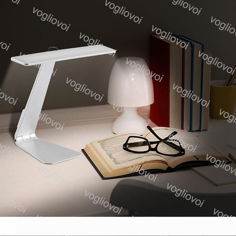 Masa Lambası LED Karartma Dokunmatik Okuma Masa Lambası USB Göz Koruma Gece Işığı Şarjlı Danışma Işık Lambalar DHL