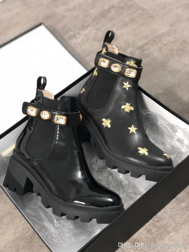 Designer Ankle Boots Women Martin Boots