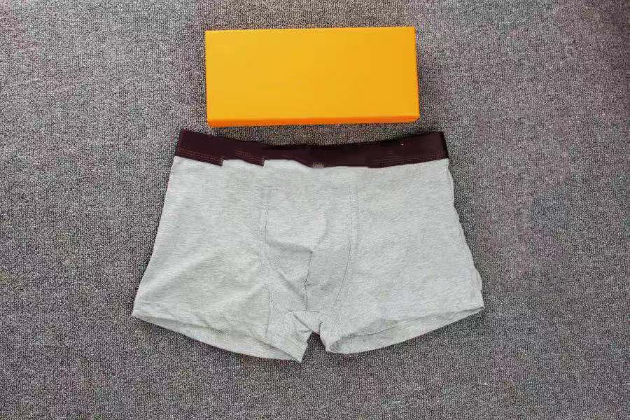 5pcs / porción boxeadores de la ropa para hombre de alta calidad de algodón cómodo atractivo de la ropa interior de los hombres cortocircuitos de los boxeadores de Cueca Masculina Boxer boxeadores