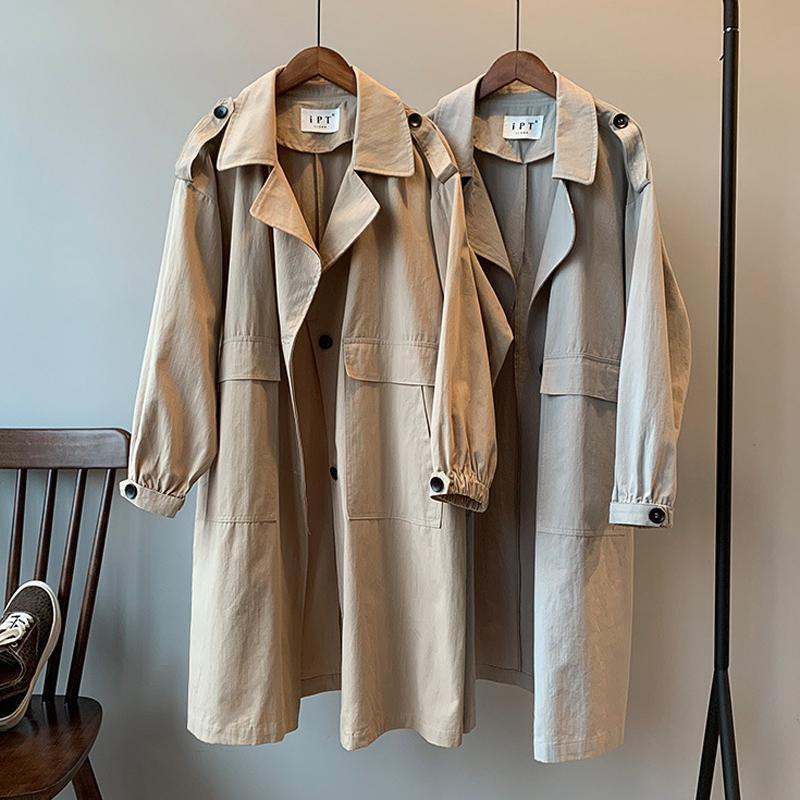 Пальто для женщин хлопка Весна Длинных пальто куртки осень Корейской Женская мода одежда 2020 Ропа Повседневного Mujer