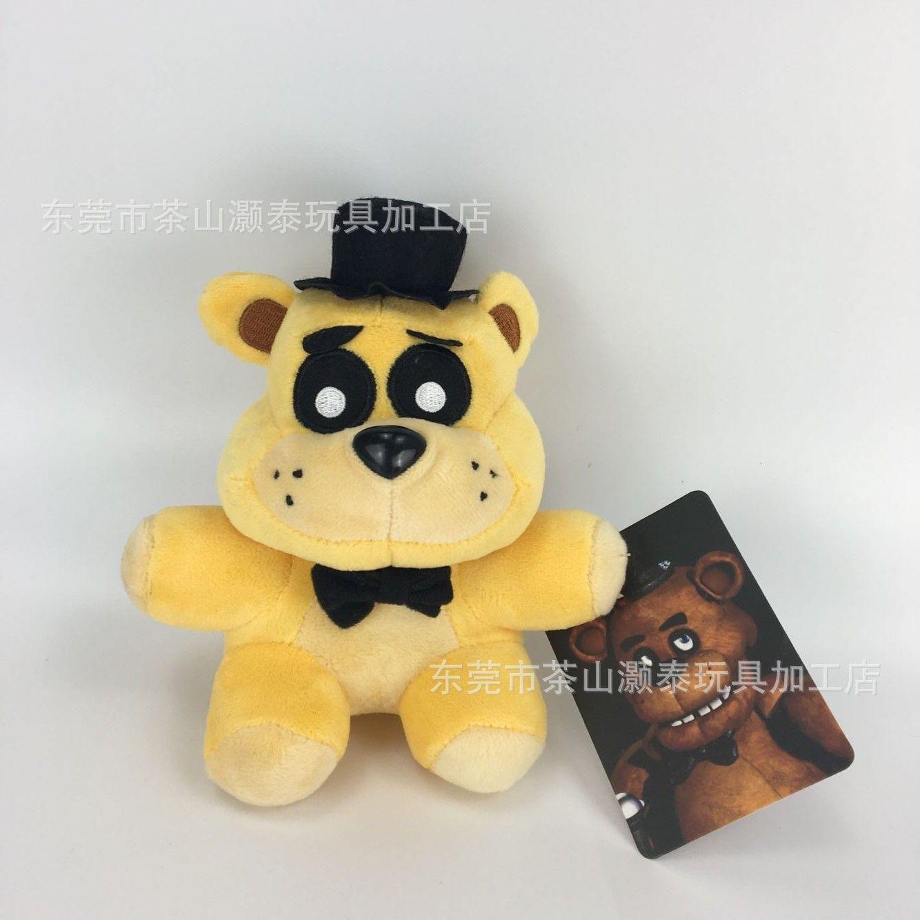 Shoes Hot Selling Teddy Bear Five Nights Harem Midnight Harem Plush Toys Five Fredys Doll Cartoon Children