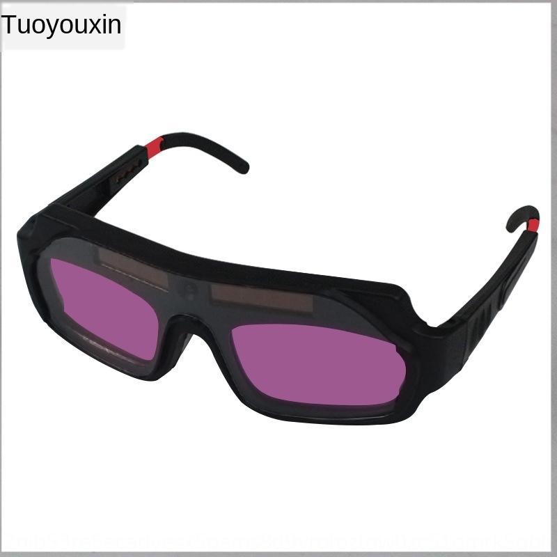 saldatura luce variabile sB7aY automatico vetri argon saldatura ad arco speciale maschera protettiva antiriflesso per saldatore automatico Occhiali protettivi