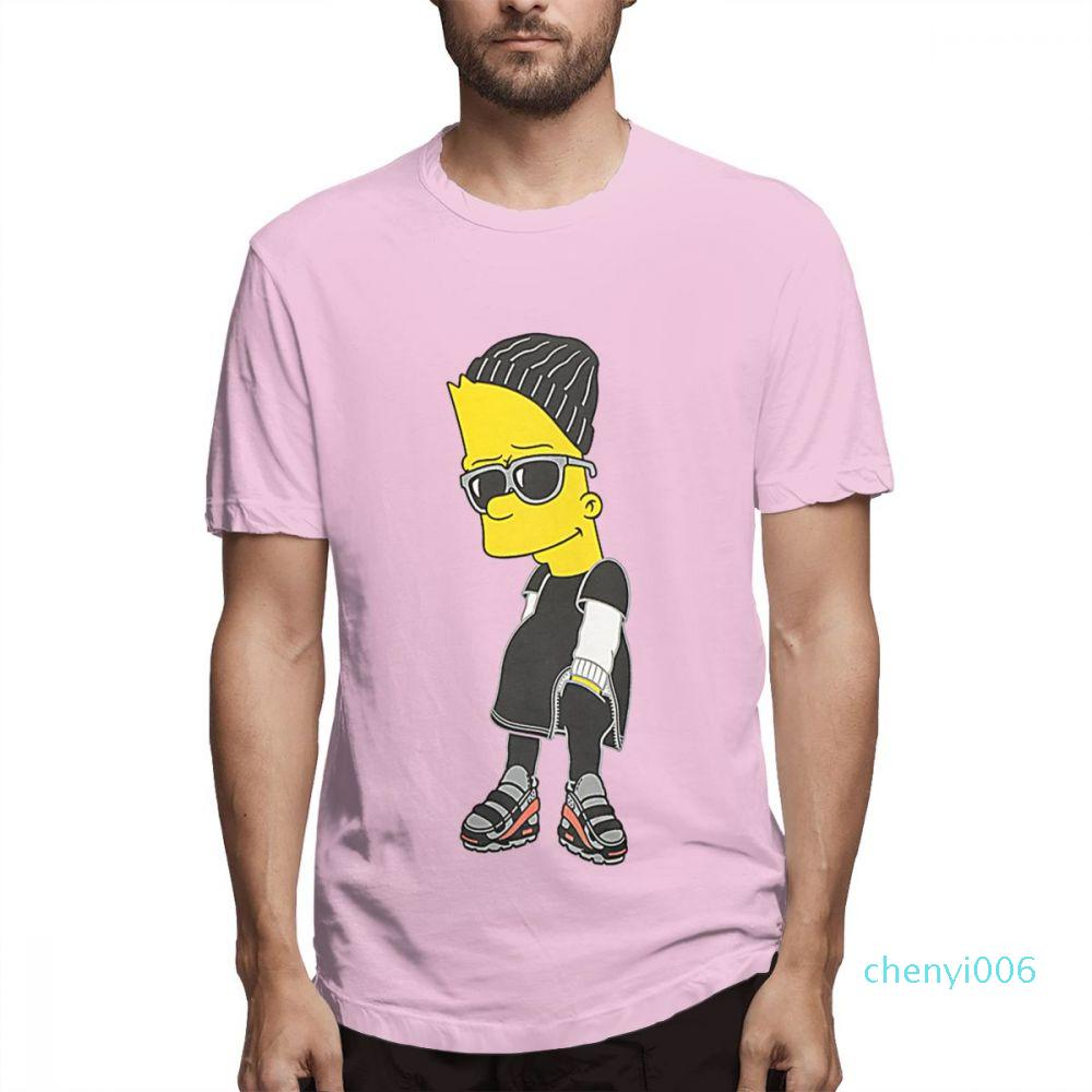 Les créateurs de mode Simpsons Chemises Femme Chemises Hommes chemise manches courtes Les Simpsons T-shirts imprimés tops été causales c5006c06