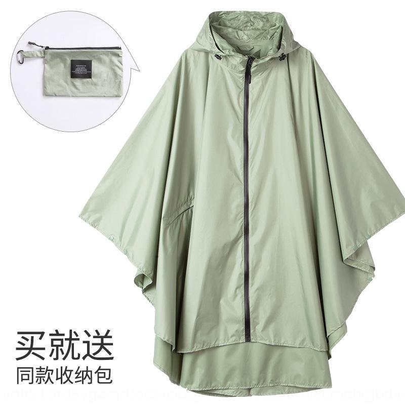 GgOsm Fashion drifting large size cycling cloak riding suit Cloak riding suit poncho travel walking fashionable water-proof windbreaker rain