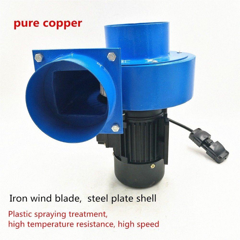 750W de alta presión resistente a temperaturas elevadas ventilador centrífugo ventilador de salida apoyo 110cm 24 horas operación Vxdd # aire caliente