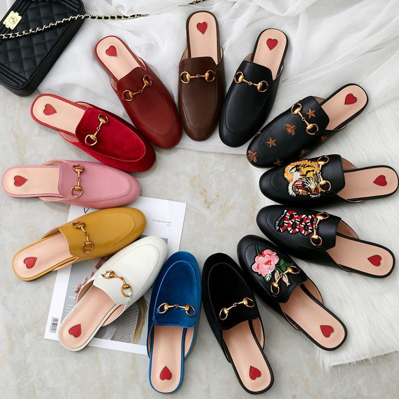 2020 novas sandálias de verão e chinelos chinelos de couro chinelos sandálias europeus meia-span sapatos criativas frete grátis geração de gordura