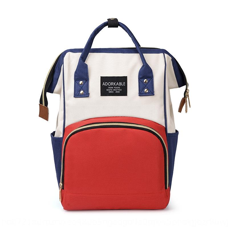 7YZx9 Anne ve yüksek kapasiteli çok fonksiyonlu sırt çantası b dışarı büyük kapasiteli çok fonksiyonlu moda anne kadın Anne dışarı bebek ve bebek