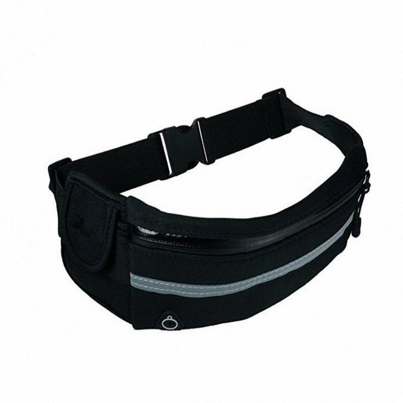 Melhor! Impermeável Pacote com bolsos multi-camada, saco da cintura bolso Viagem com ajustável Workout Belt Para Sports y9Cc #