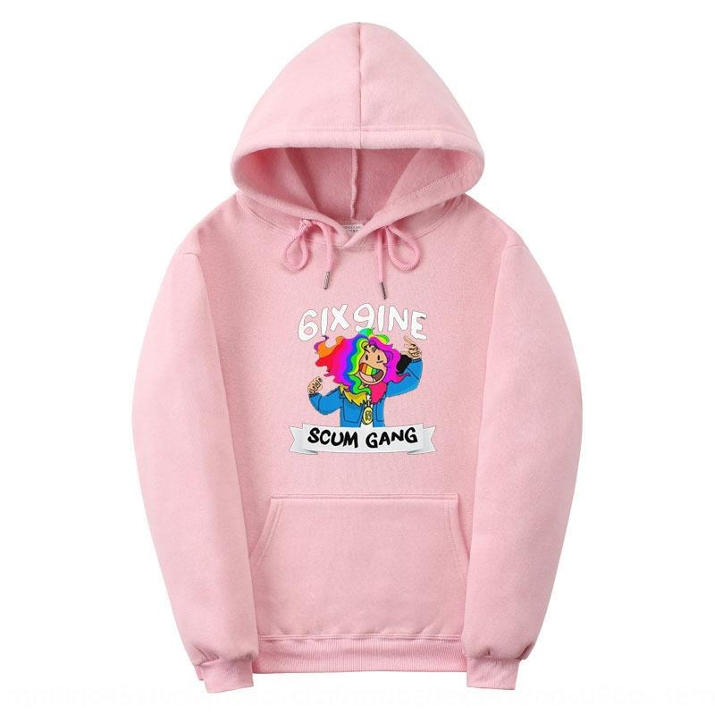 Fashion brand sweater SCUM Pullover outfit wear couple wear GANG clown color printing men's clothing new pullover hoodie couple suit