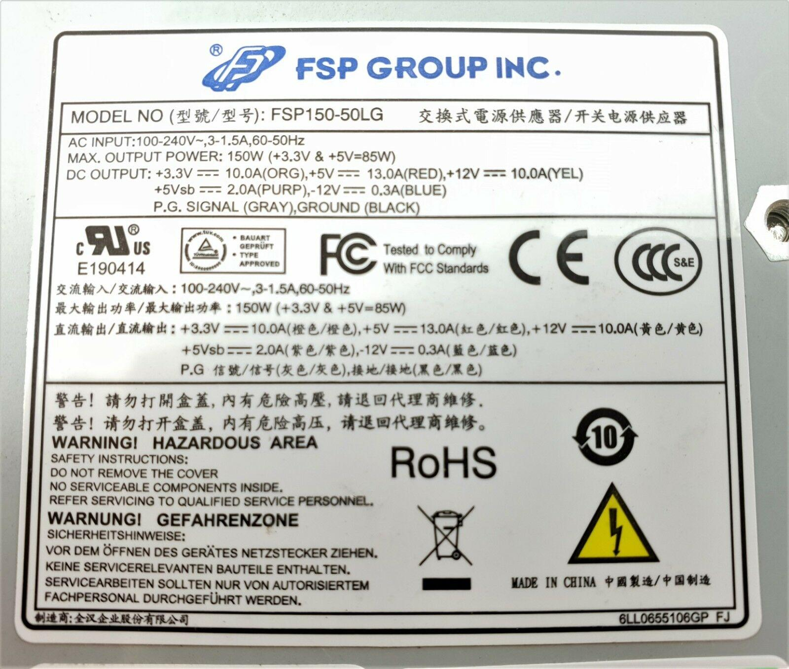 For Original FSP150-50LG 150W 1U power supply will fully test before shipping