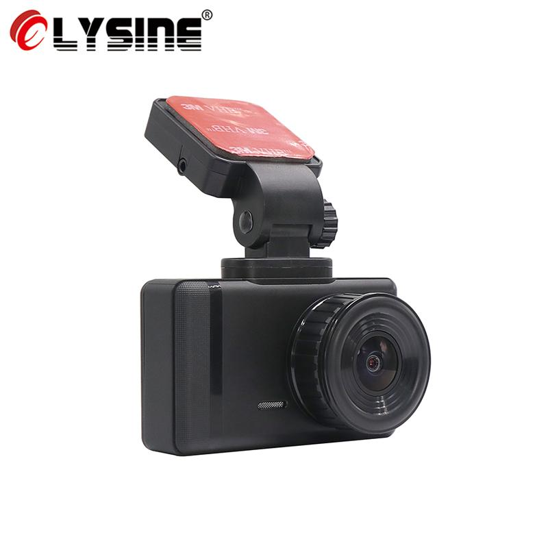 Olysine 4K Araba DVR WiFi GPS Tracker Dash Cam Sony Sensor 2160p Araç Kamera Gece Görüş Çift Mercek Sürüş Video Kaydedici Dashcam