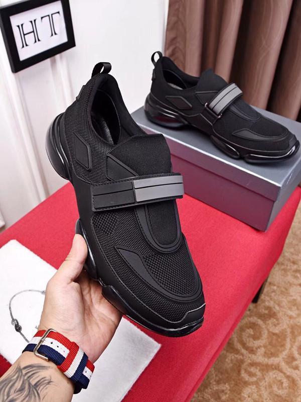 18ss Shoe Cloudbust P Causal sapatos Magia laço Deslizamento Casual Sapatos plataforma de formação Shoes Sneaker Size PRD 38-44 ht 06