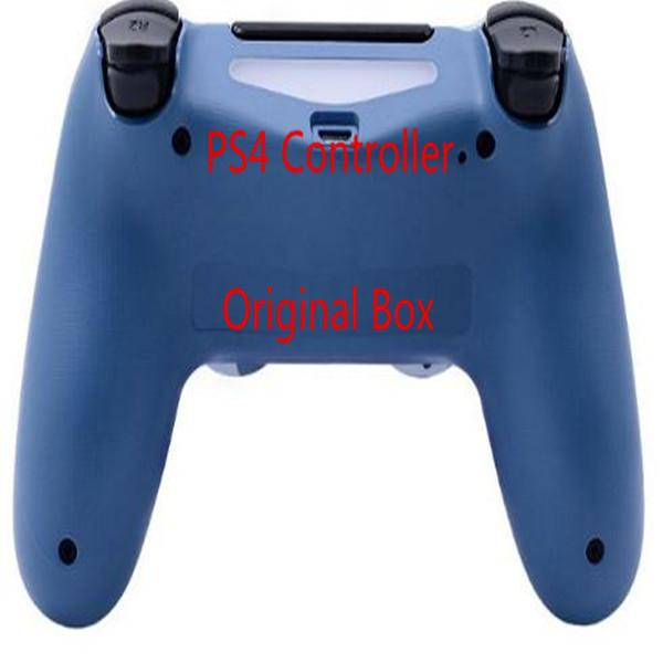 원래 상자 PS4 무선 컨트롤러 게임 패드 조이스틱 컨트롤러 없음으로 플레이 스테이션 4 다채로운 블루투스 게임 패드를 지연