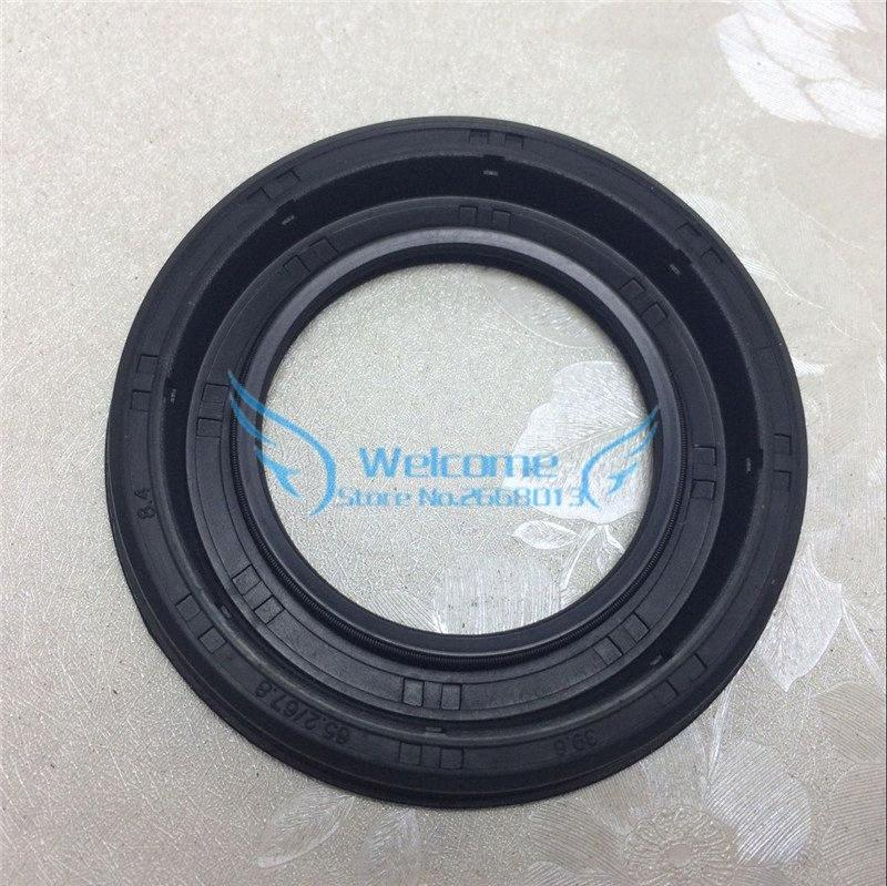 Wave/Gear box front oil seal for CRUZE 1.6/1.8 NEW REGAL LaCrosse Excelle XT GT 24230691 SIZE:39.6*65.2/67.8*8.4 uicn#