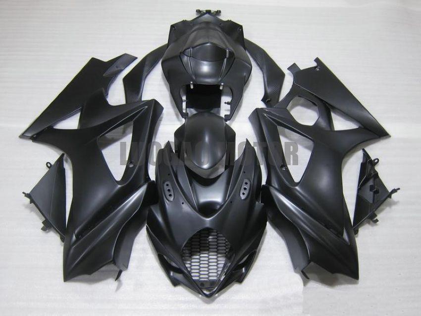 Injection Fairings kit for SUZUKI GSXR1000 GSXR-1000 2005 2006 GSXR 1000 05 06 #Body cover gsxr1000 05-06 tank #8W2L7 #BLACK