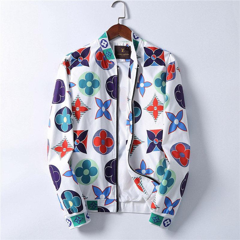 cerniera intera maschile 2020 della moda di Parigi Europa sportswear Designers giacche felpa giacca uomini paio classici Designers