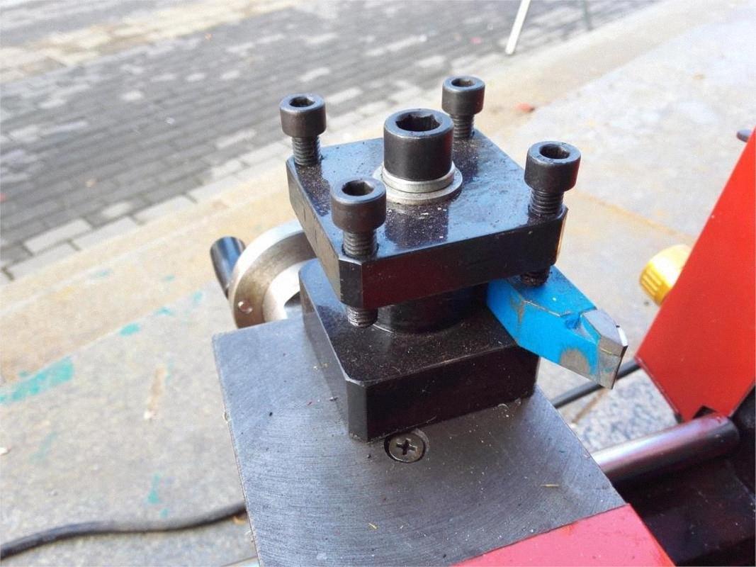 Haushalts Miniatur-Metall einfaches Instrument Revolver, Reitstock Mini-Holzbearbeitung Holzperlen und Perlen, Buddha Drehmaschine TVRK #