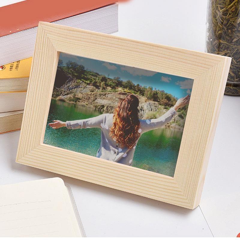 Красивая Практическая Blank рамка Art Рамка деревянная мебель DIY холст картины маслом Искусство и ремесла Главная Мебель Мебель