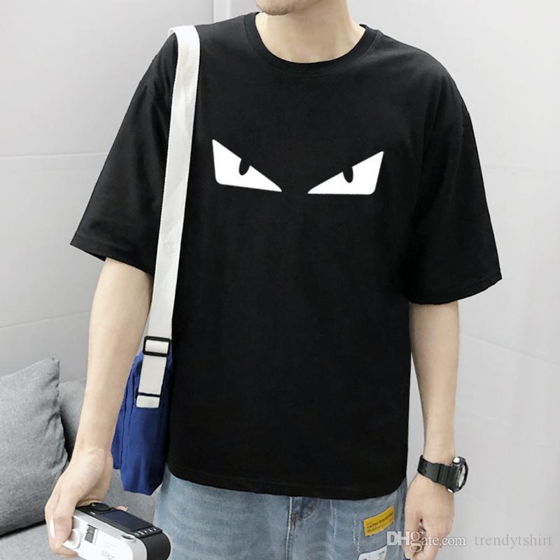 20SS Mens T-Shirts Vestuário Europa e nos Estados Unidos O olho de alta qualidade de impressão é muito perfeito Chefe Há tamanho S-3XL