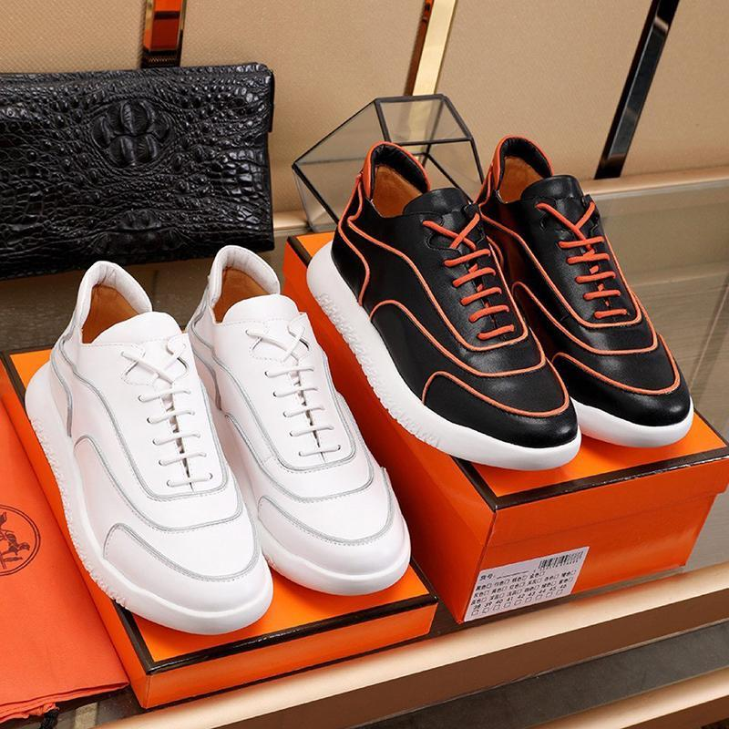 Top-Qualität Volte Sneaker Herrenschuhe im Freien zu Fuß Gemütlich Luxus-Schuhe plus Größe beiläufige Art und Weise Spitze -Bis Herren Schuhe Scarpe Da Uomo