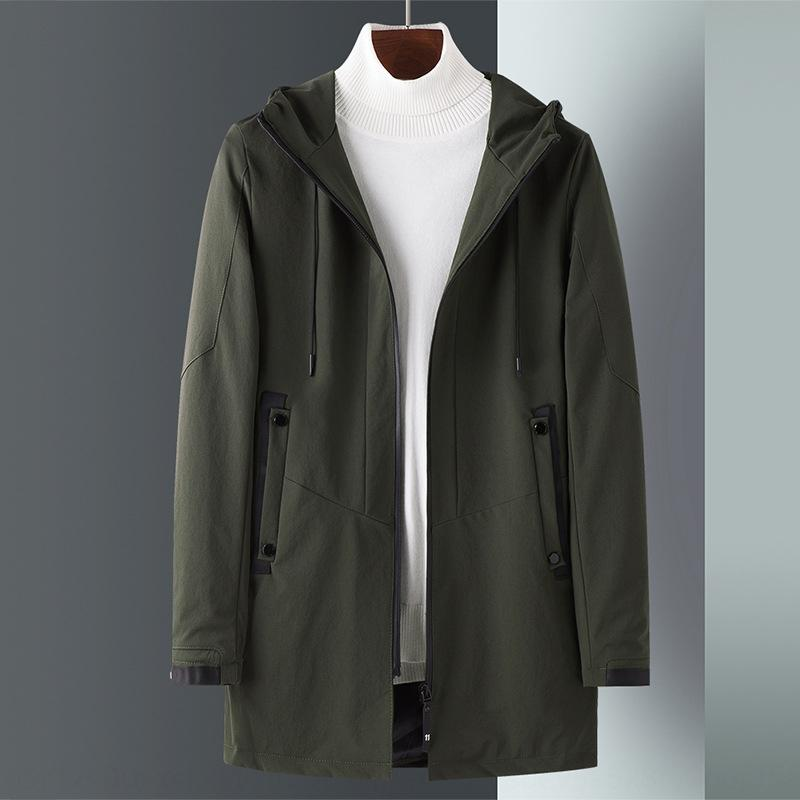 lrke2 Neue Jacke der Männer dünner Frühling und Herbst groß slim fit Windjacke Windjacke lässig Korean Größe Jugend Herrenmode