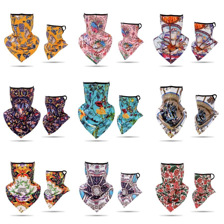 Montar fisuras Bandana impresión de la mariposa Bufanda mágica de múltiples funciones de la venda al aire libre a prueba de polvo mascarilla de 8 Estilos X400FZ # 825