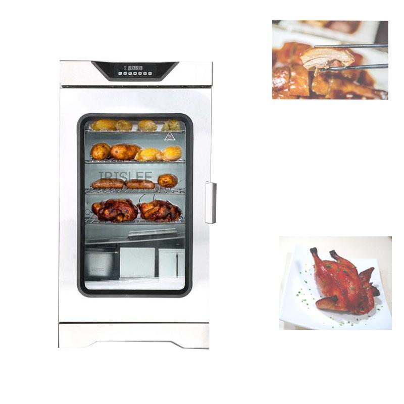 D1701 LEWIAO Vente chaude en acier inoxydable machine à viande fumée / saucisses de poulet Viande Smoker Four Maison