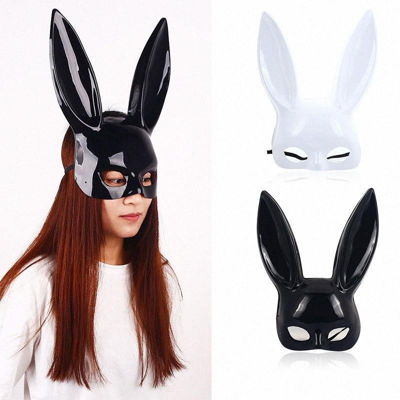 Kulaklar Şapkalar Yüz parçası Güzel Seksi Cadılar Bayramı Süsleme 70Yd # Maske