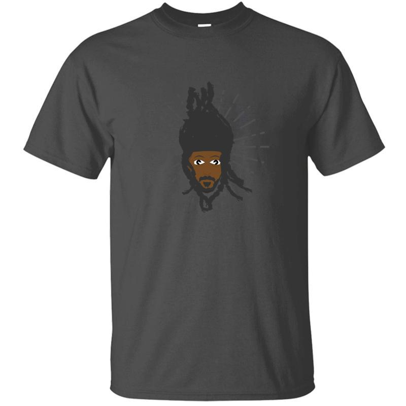 Individuelle angepasste schwarzer Mann Geschichtlich Haar Stolz Amerikaner Shirt Baumwolle weibliche Freizeit-T-Shirts in Übergrößen S-5xl Hiphop