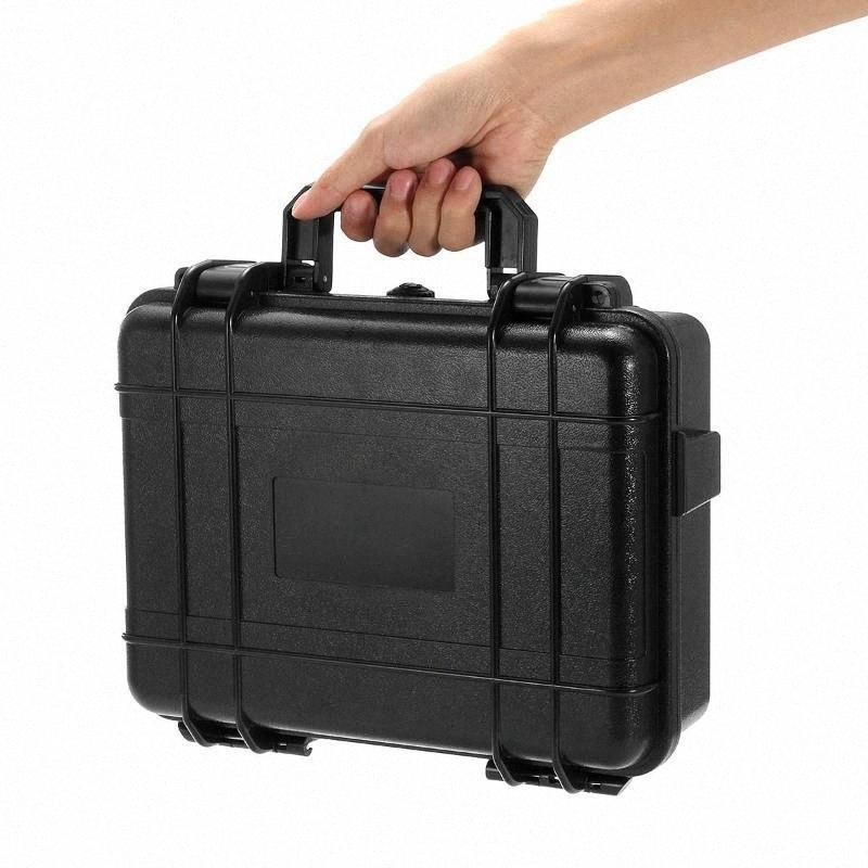 Waterproof Carry plástico rígido caso Equipamentos de Proteção caixas de armazenamento de hardware à prova de choque Toolbox Bag-Tool-Kits Impact Resistant vdwK #