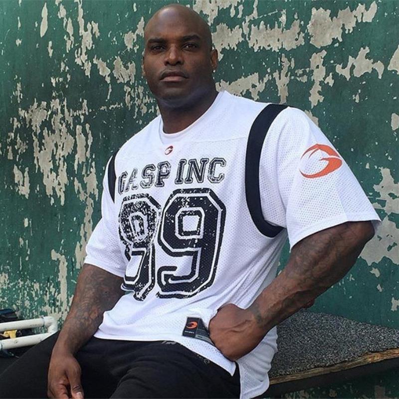 camisa de manga malha de alta dos homens da qualidade Basketball Jersey T Sport Top Fitness Gym Camisas Sport Quick Dry Workout Sportswear shirt MX200611