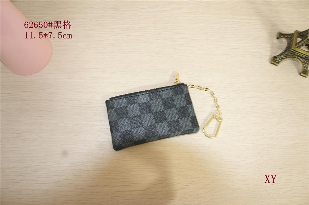 2020 hommes design Portefeuilles femmes Wallet Sac monnaie Zipper petit sacs à main designer bourses bourse bourse Clips Walletdesigner