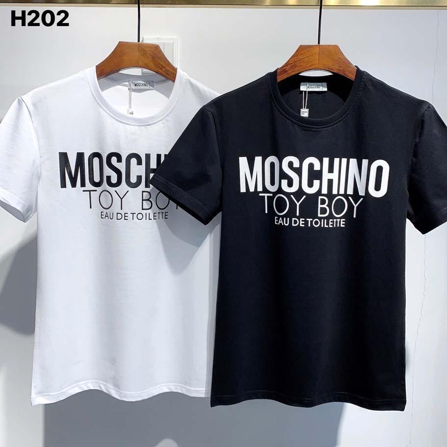 2020ss Europa de envío y camiseta de lujo O-Cuello de alta calidad de la camiseta de manga corta de impresión H371 Hombres camiseta M-3XL de los hombres de América gratuito